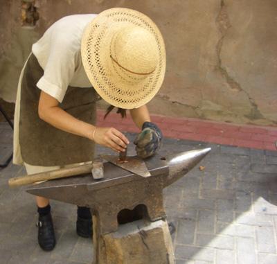 Trabajando el hierro