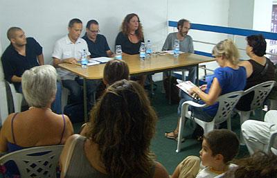 Poetas canarios y valencianos