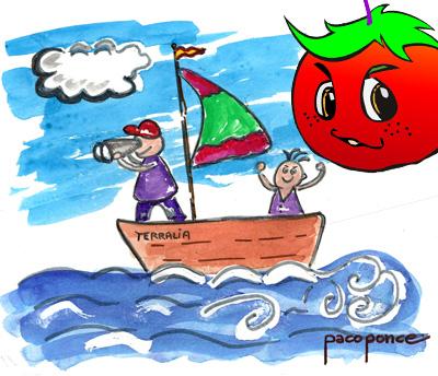Pichín, el tomate parlanchín