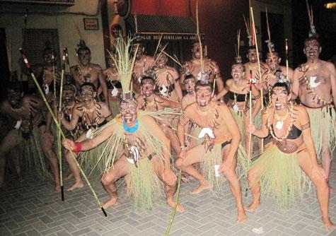 Conjunto de indígenas