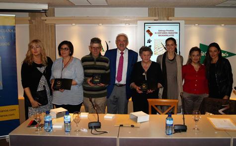 Foto con los premiados
