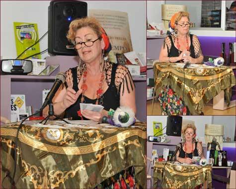 Carmela Rey (Poeta y actriz)