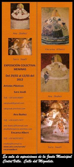 Exposición Meninas