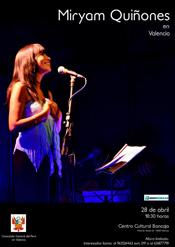 Miryam Quiñones cantante del Perú