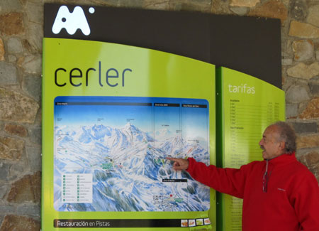 Cerler localidad de Huesca