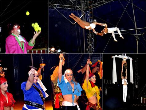 Circo Wonderland Valencia 2011