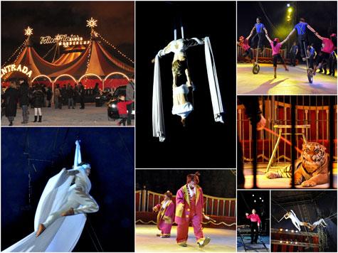 Comienza el espectáculo del circo Wonderland