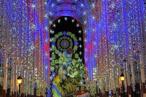 Segundo premio calles iluminadas 2012