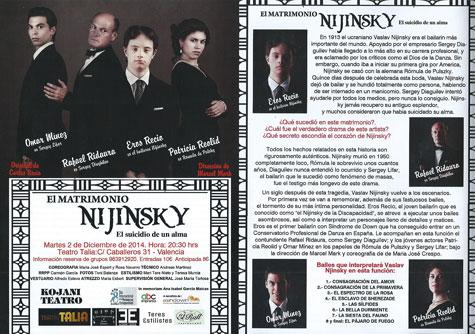El matrimonio Nijinsky