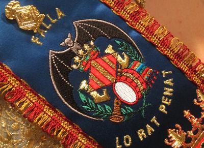 Emblema de la Falla Lo Rat Penat - Valencia