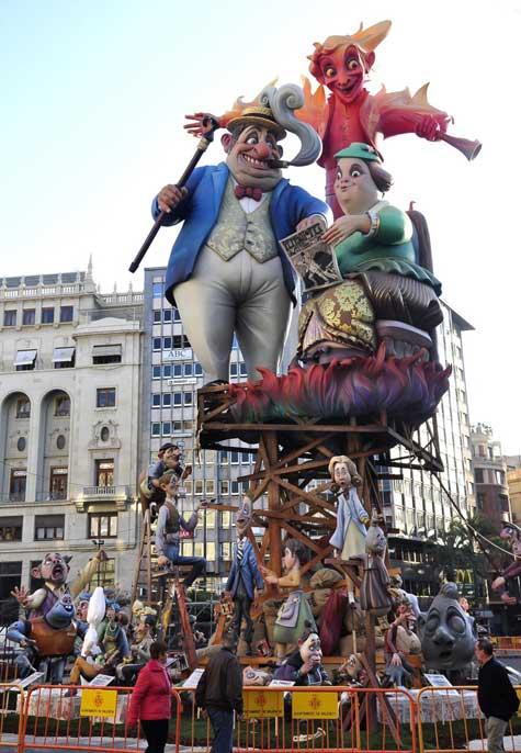 Falla de la Plaza del Ayuntamiento -2012
