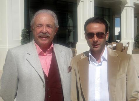 Francisco Ponce (Escritor) y Enrique Ponce (Torero)