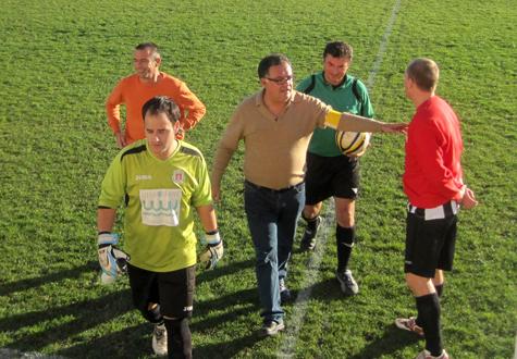 Final del partido Castellnovo C.F. - C.D. Puebla de Farnals