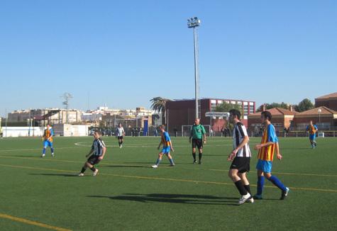 Jugada encuentro Albalat - Castellnovo C.F.