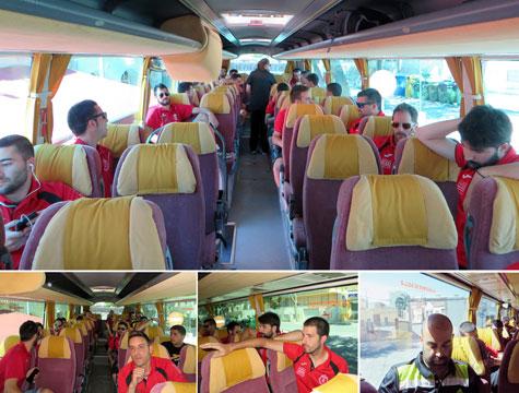 Desplazamiento en autobús