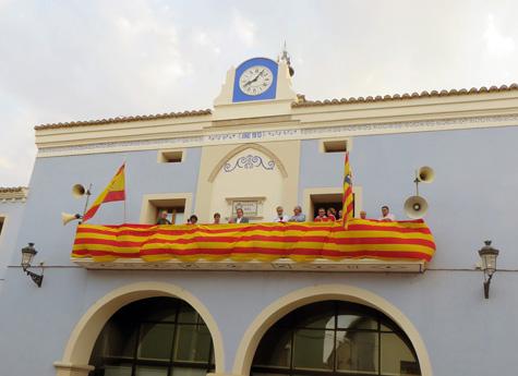 Balcón Ayuntamiento