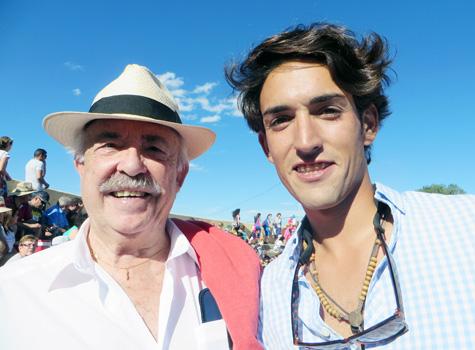 Francisco Ponce (Escritor) y Jesús Duque (Matador de Toros)