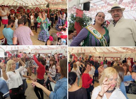 Momentos de la Feria de Abril