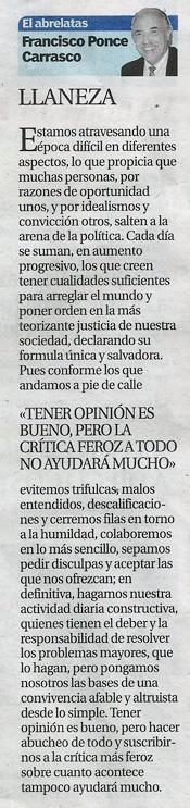 """Columna """"El Abrelatas"""""""