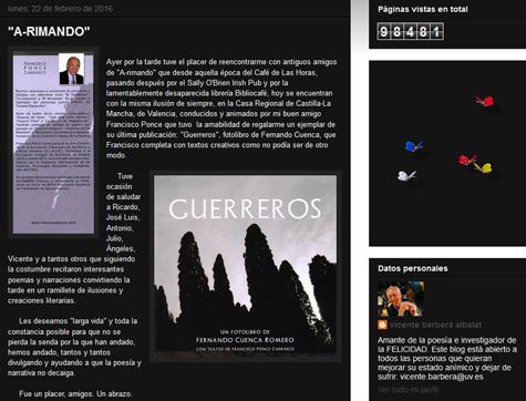 Blog de Vicente Barberá