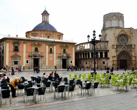 Plaza de Virgen - Valencia
