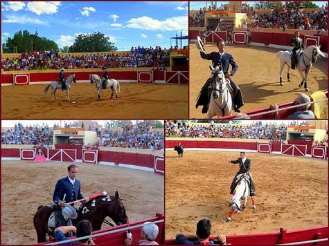 Santa Eulalia del Campo 2012 – Tarde de rejones con dos caras