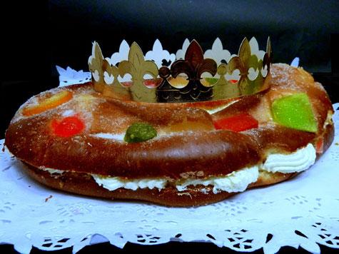 Roscón de Reyes (Fotografía de José Luís Vila)