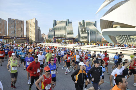 Salidas Maratón y 10 Km.