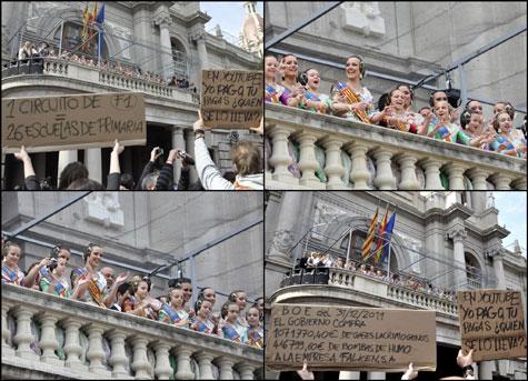 """Balcón Ayuntamiento - """"Mascletà"""""""