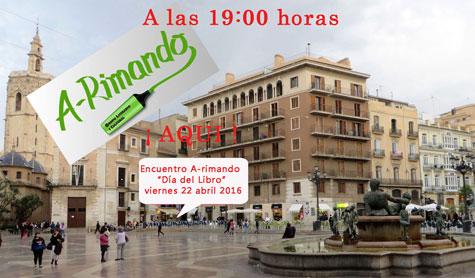Día del libro en Valencia