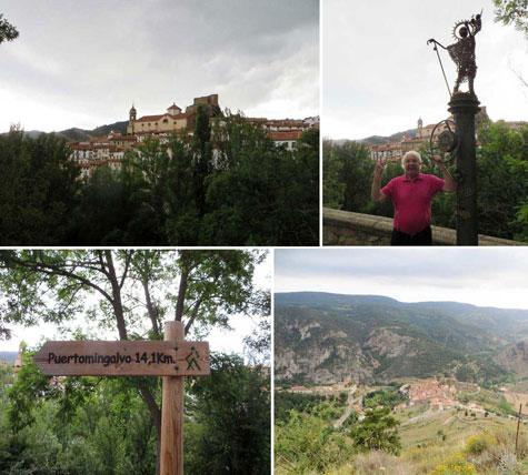 Vistas de LINARES DE MORA (Teruel)