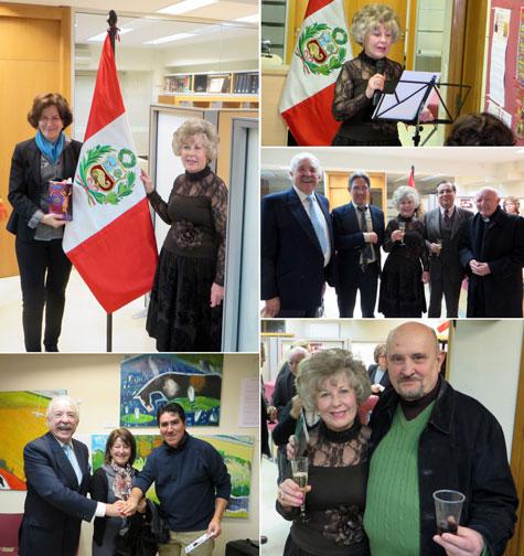 Momentos en consulado Perú