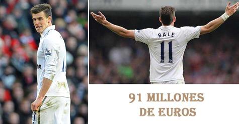 Esto se pagó por el traspaso del jugador Bale