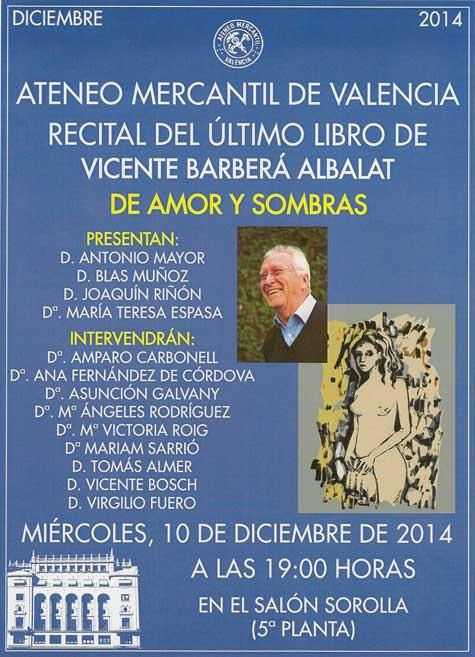 Poesía Vicente Barberá
