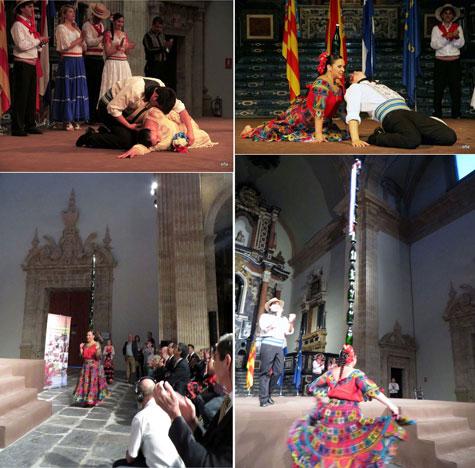 Baile paraguayo de la botella