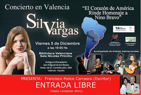 Cartel de Silvia Vargas
