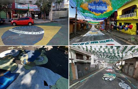Pintadas mundiales en Brasil