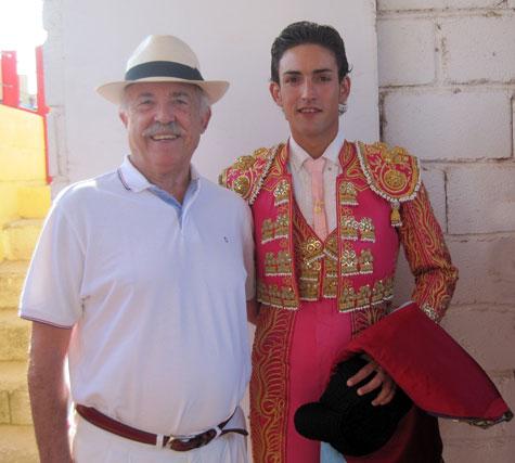 Francisco Ponce (Escritor) y Jesús Duque (Matador)
