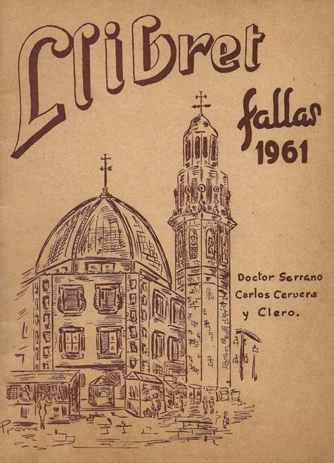 Llibret de falla 1961