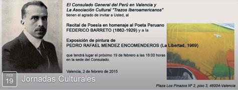 Consulado general del Perú en Valencia.
