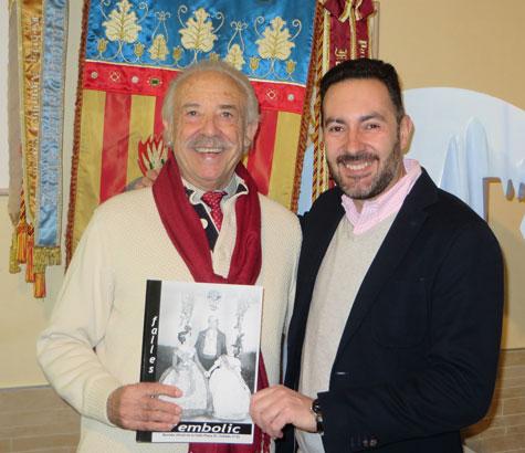 Francisco Ponce (escritor) y Carlos Navarro (director)