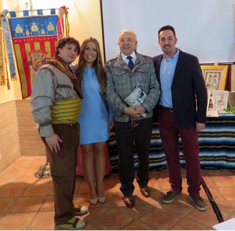Presidente, Rebeca Aguado, Francisco Ponce y Carlos Navarro