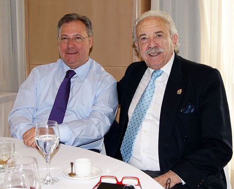 Ricardo Villuendas (Presidente) y Francisco Ponce (Presidente de honor)