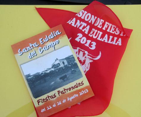 Fiestas y Toros en Santa Eulalia