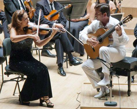Anabel García y J.M. Gallardo