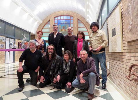 Alcalde, cultura, organizadora y artistas