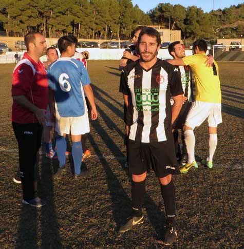 Javi Cerezo (autor del gol)