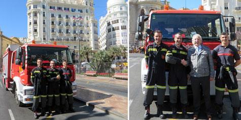 Unidad de Bomberos (Plaza Ayuntamiento)