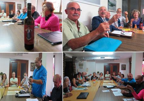 Brindis con el vino de Carmen Carrasco