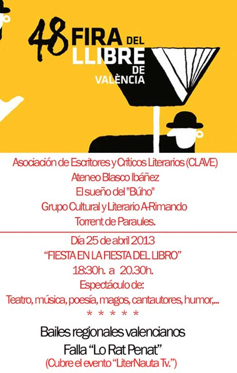 48 Feria del libro en Valencia